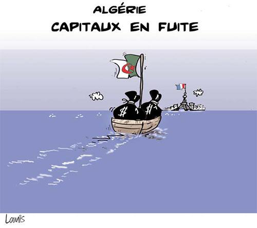 Algérie: Capitaux en fuite - Lounis Le jour d'Algérie - Gagdz.com