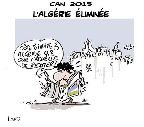 CAN 2015: l'Algérie éliminée - Lounis Le jour d'Algérie - Gagdz.com