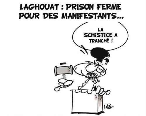 Laghouat: Prison ferme pour des manifestants - Vitamine - Le Soir d'Algérie - Gagdz.com