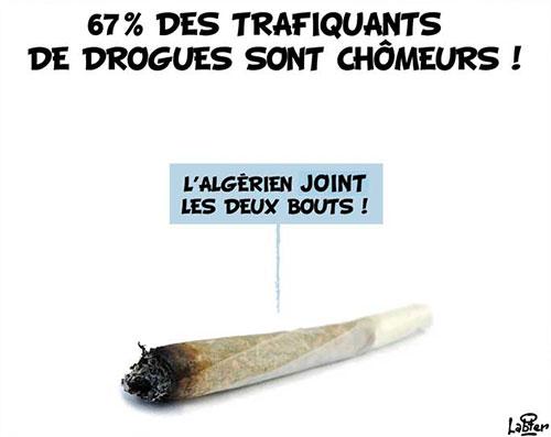67% des trafiquants de drogues sont chômeurs - Vitamine - Le Soir d'Algérie - Gagdz.com