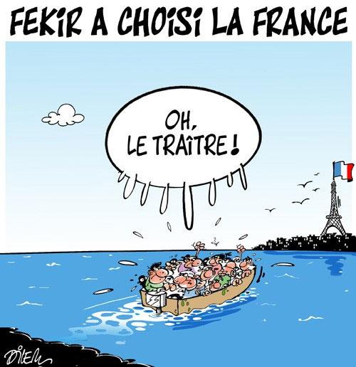 Fekir a choisi la France - Dilem - Liberté - Gagdz.com