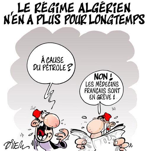 Le régime algérien n'en a plus pour longtemps - Dilem - Liberté - Gagdz.com