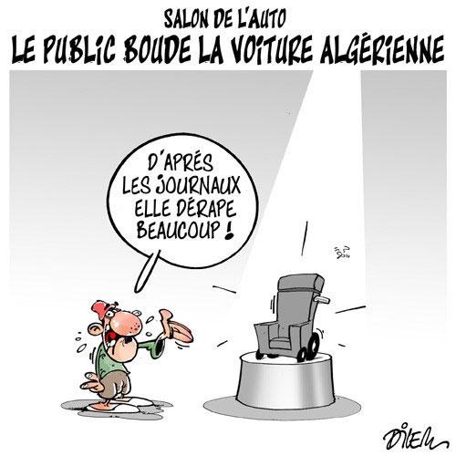 Salon de l'auto: Le public boude la voiture algérienne - Dilem - Liberté - Gagdz.com
