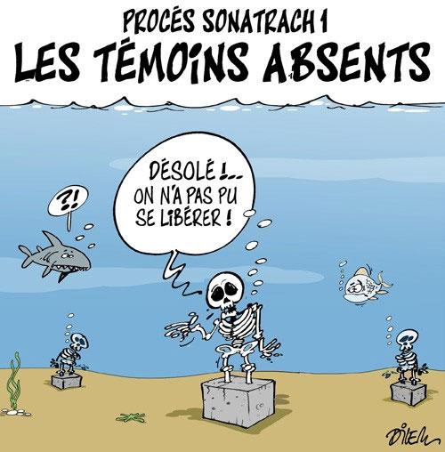 Procès sonatrach 1: Les témoins absents - Dilem - Liberté - Gagdz.com