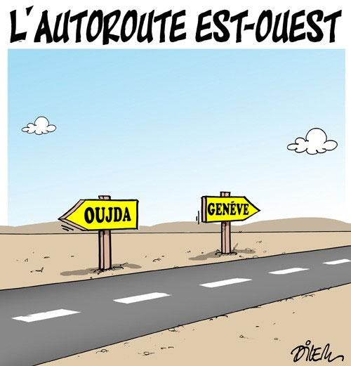 L'autoroute est-ouest - Dilem - Liberté - Gagdz.com