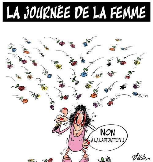 La journée de la femme - Dilem - Liberté - Gagdz.com