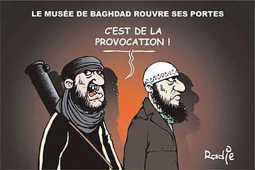 Le musée de Baghdad rouvre ses portes - musée - Gagdz.com