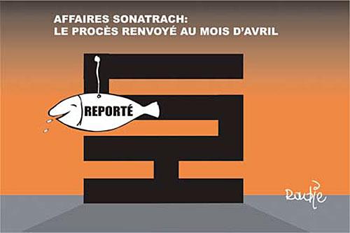 Affaire sonatrach: Le procès renvoyé au mois d'avril - Ghir Hak - Les Débats - Gagdz.com