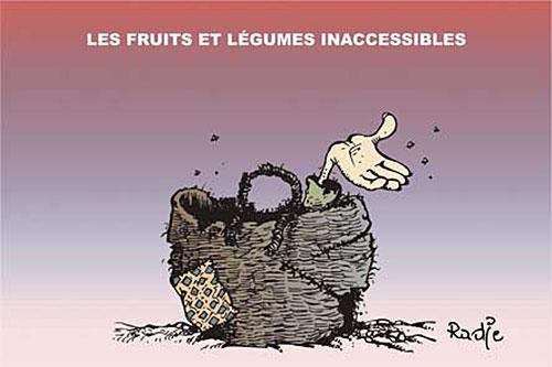 Les fruits et légumes inaccéssibles - fruits et légumes - Gagdz.com