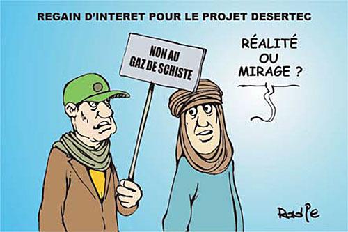 Regain d'interet pour le projet desertec - projet - Gagdz.com