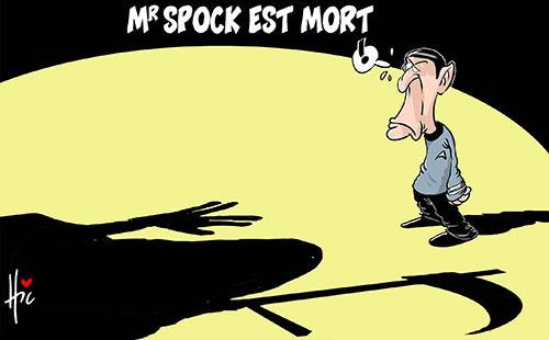 Mr Spock est mort - Le Hic - El Watan - Gagdz.com