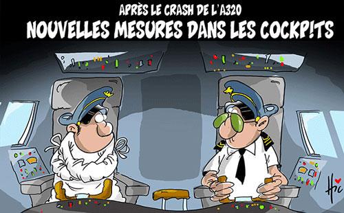 Après le crash de l'A320: Nouvelles mesures dans les cockpits - Le Hic - El Watan - Gagdz.com