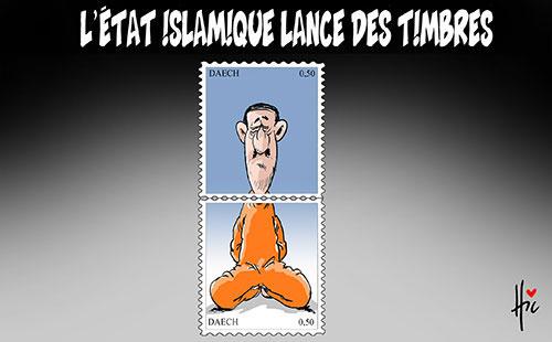 L'état islamique lance des timbres - Le Hic - El Watan - Gagdz.com