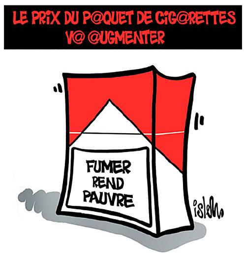 Le prix du paquet de cigarettes va augmenter - Islem - Le Temps d'Algérie - Gagdz.com