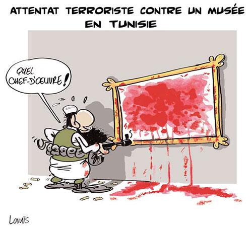Attentat terroriste contre un musée en Tunisie - Lounis Le jour d'Algérie - Gagdz.com
