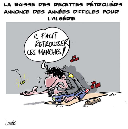 Baisse des recettes pétrolières: années difficiles pour l'Algérie - Lounis Le jour d'Algérie - Gagdz.com