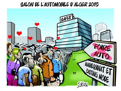Salon de l'automobile d'Alger 2015 - Sidou - Gagdz.com