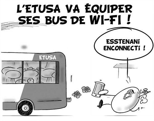 L'ETUSA va équiper ses bus de Wi-Fi - Vitamine - Le Soir d'Algérie - Gagdz.com