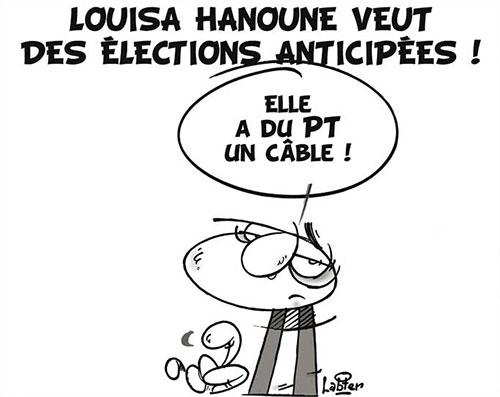 Louisa Hanoune veut des élections anticipées - Hanoune - Gagdz.com