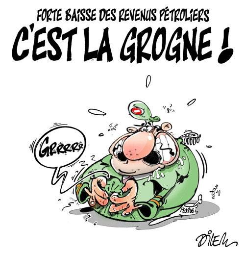 Forte baisse des revenus pétroliers: C'est la grogne - forte - Gagdz.com