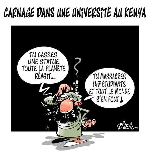 Carnage dans une université au Kenya - Dilem - Liberté - Gagdz.com