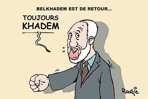 Belkhadem est de retour - retour - Gagdz.com
