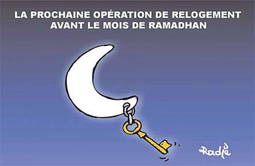 La prochaine opération de relogement avant le ramadhan - Ghir Hak - Les Débats - Gagdz.com