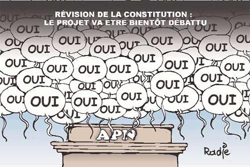 Révision de la constitution: Le projet va être bientôt débattu - Ghir Hak - Les Débats - Gagdz.com