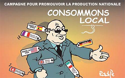 Campagne pour promouvoir la production nationale - Ghir Hak - Les Débats - Gagdz.com