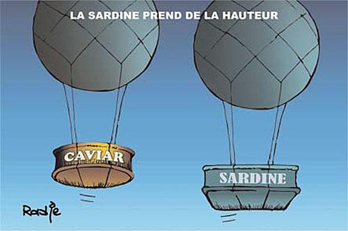 La sardine prend de la hauteur - Ghir Hak - Les Débats - Gagdz.com