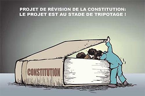 Projet de révision de la constitution: Le projet est au stade de tripotage - Ghir Hak - Les Débats - Gagdz.com