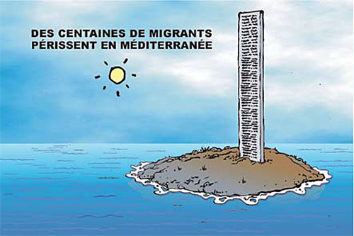 Des centaines de migrants périssent en méditerranée - Ghir Hak - Les Débats - Gagdz.com
