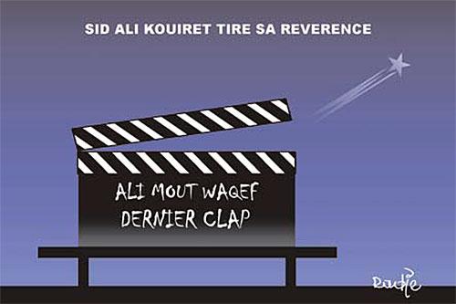 Sid Ali Kouiret tire sa réverence - tire - Gagdz.com