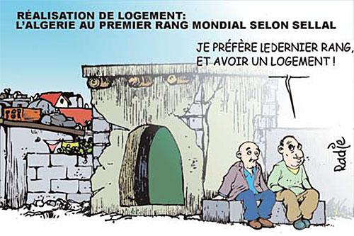 Réalisation de logements: L'Algérie au premier rang mondial selon Sellal - Ghir Hak - Les Débats - Gagdz.com