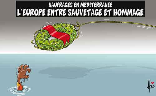 Naufrages en méditerranée: L'Europ entre sauvetage et hommage - Le Hic - El Watan - Gagdz.com