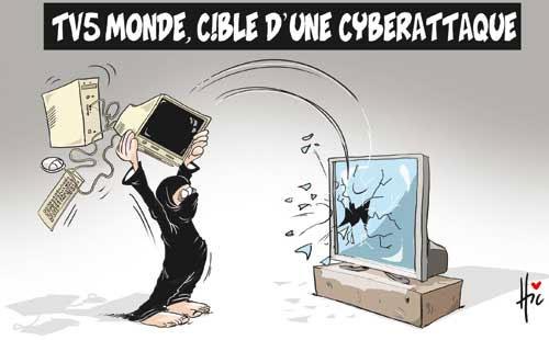 TV5 monde cible d'une cyberattaque - Le Hic - El Watan - Gagdz.com