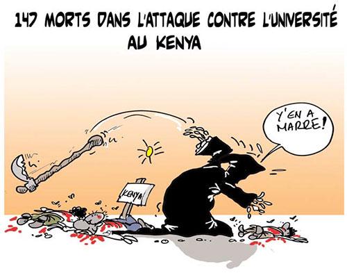 147 morts dans l'attaque contre l'université au Kenya - Lounis Le jour d'Algérie - Gagdz.com