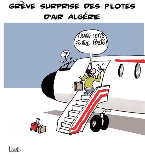 Grève surprise des pilotes d'Air Algérie - Lounis Le jour d'Algérie - Gagdz.com