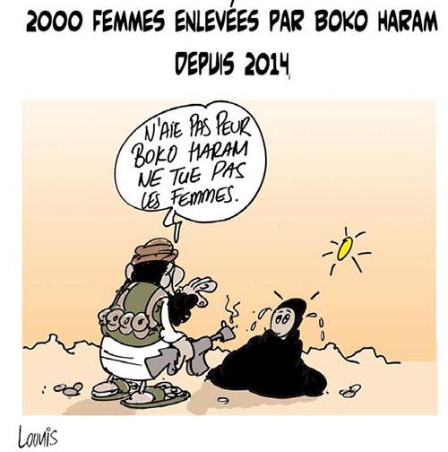 2000 femmes enlevées par boko haram depuis 2014 - Lounis Le jour d'Algérie - Gagdz.com