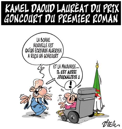 Kamel Daoud lauréat du prix goncourt du premier roman - Dilem - Liberté - Gagdz.com