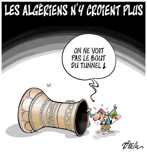 Les Algériens n'y croient plus - Dilem - Liberté - Gagdz.com