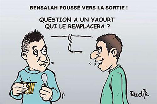 Bensalah poussé vers la sortie - Ghir Hak - Les Débats - Gagdz.com