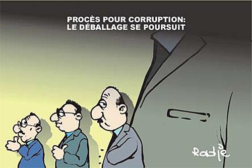 Procès pour corruption: Le déballage se poursuit - Ghir Hak - Les Débats - Gagdz.com