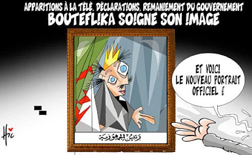 Apparition à la télé, déclarations, remaniement du gouvernement: Bouteflika soigne son image - télé - Gagdz.com