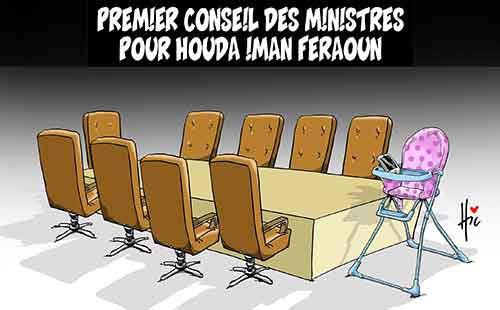 Premier conseil des ministres pour Houda Iman Feraoun - Le Hic - El Watan - Gagdz.com
