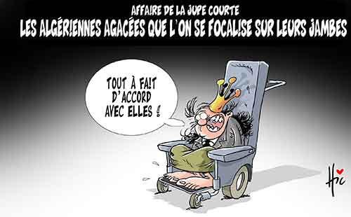 Affaire de la jupe courte: Les Algériennes agacées que l'on se focalise sur leurs jambes - Le Hic - El Watan - Gagdz.com