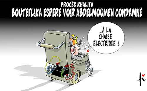 Procès Khalifa: Bouteflika espère voir Abdelmoumen condamné - Le Hic - El Watan - Gagdz.com