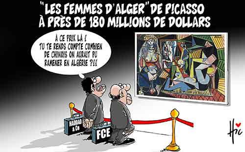 Les femmes d'Alger de picasso à près de 180 millions de dollars - Le Hic - El Watan - Gagdz.com