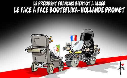 Le président français bientôt à Alger: Le face à face Bouteflika-Hollande promet - Le Hic - El Watan - Gagdz.com