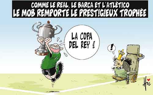 Comme le Real, le Barça et l'Atletico: Le Mob remporte le prestigieux trophée - Le Hic - El Watan - Gagdz.com
